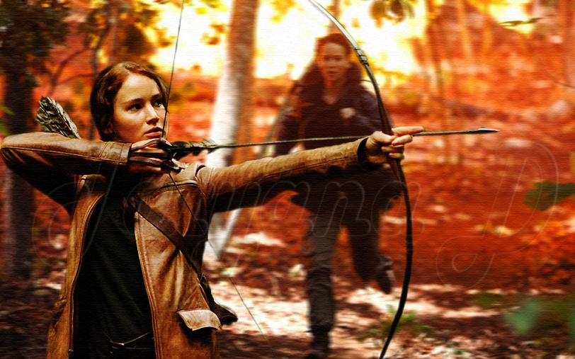 Jen with bow