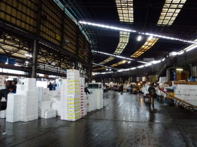Lorong-lorong di Pasar Ikan